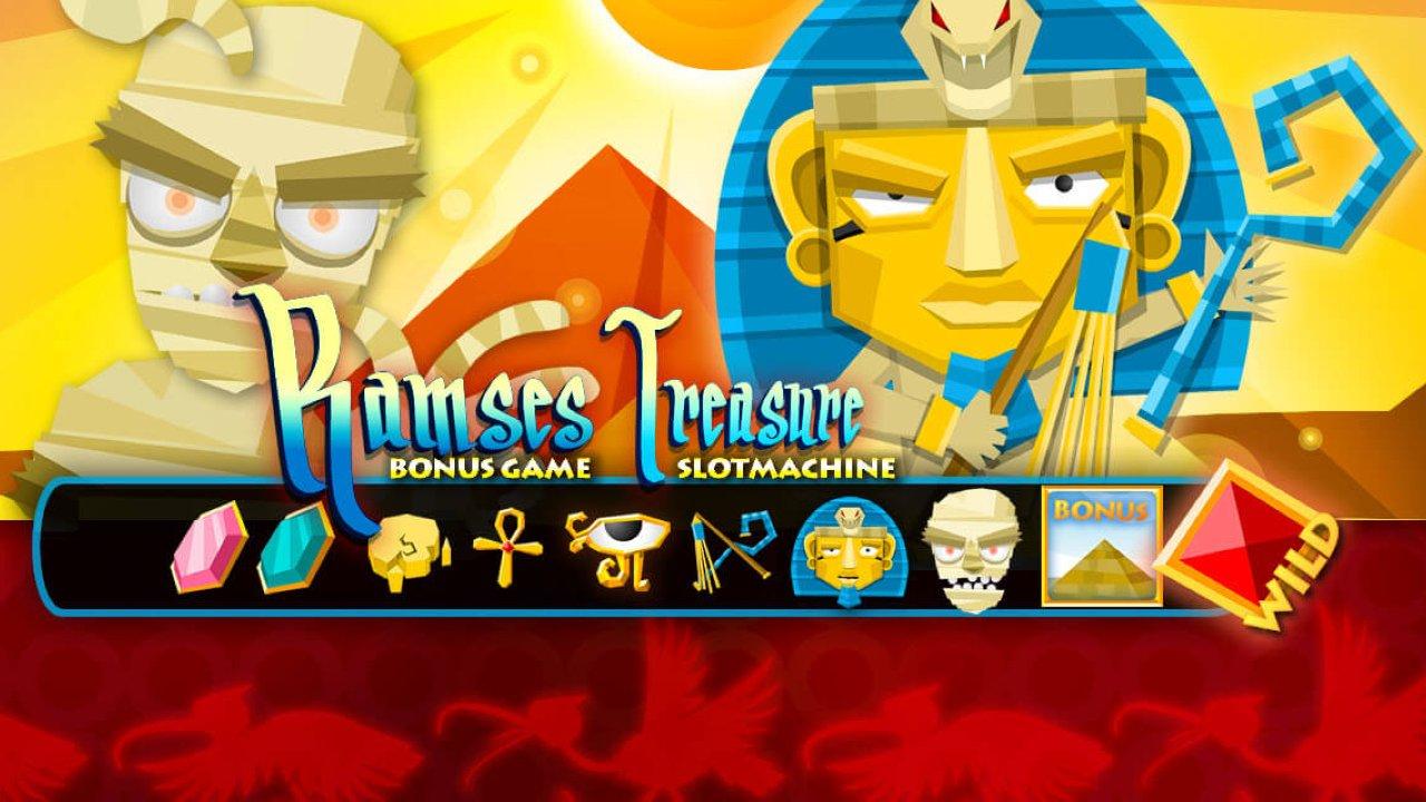 Machine à sous Ramsès - Jeu de casino en ligne